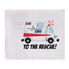 To The Rescue! Throw Blanket