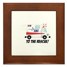 To The Rescue! Framed Tile