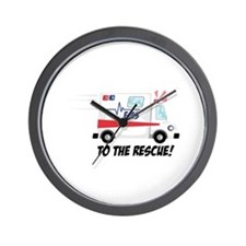 To The Rescue! Wall Clock