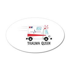 Trauma Queen Wall Decal