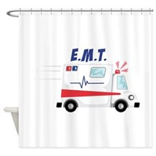 E.M.T Shower Curtain