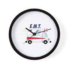 E.M.T Wall Clock