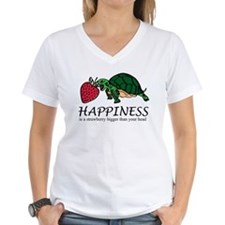 Happiness is (turtle/strawberry) Shirt