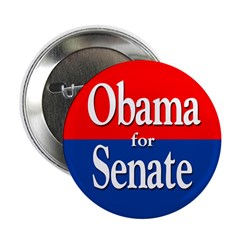 Barack Obama for Senate Button