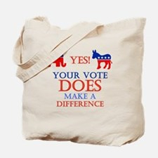 Your Vote Counts Tote Bag