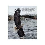 Bald eagle Fleece Blankets