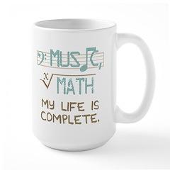 Math and Music Mugs