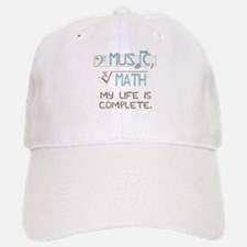 Math and Music Baseball Baseball Baseball Cap