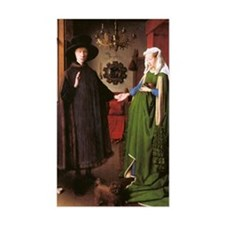 Portrait of Giovanni Arnolfini Decal