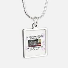 Silver Square Silver Square Necklace