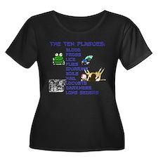 ten-plagues.png Plus Size T-Shirt