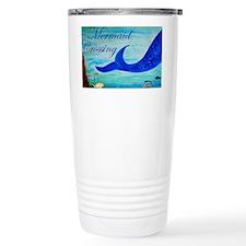 Mermaid Crossing Travel Mug