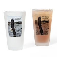 Wide Winged Wonder Drinking Glass