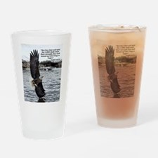 Wide Winged Wonder Drinking Glass