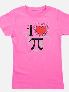 I heart Pi Girl's Tee