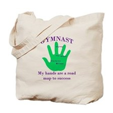 Gymnast Road Map Tote Bag