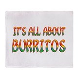 Burrito Fleece Blankets