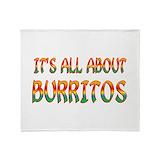 Burrito Fleece Blankets