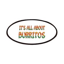 All About Burritos Patches