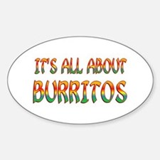 All About Burritos Decal