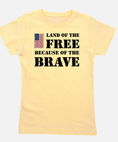 Land of the Free Girl's Tee