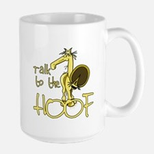 Talk to the Hoof Large Mug
