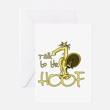 Talk to the Hoof Greeting Cards (Pk of 10)