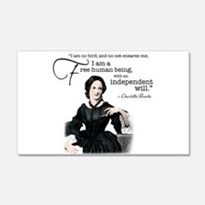 Charlotte Bronte Wall Decal