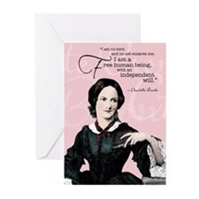 Charlotte Bronte Greeting Cards (Pk Of 10)