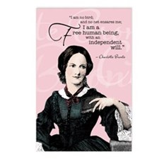 Charlotte Bronte Postcards (Package Of 8) Postcard