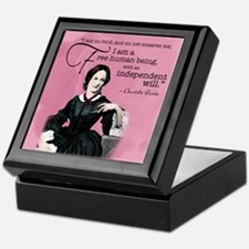 Charlotte Bronte Keepsake Box