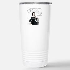 Charlotte Bronte Travel Mug