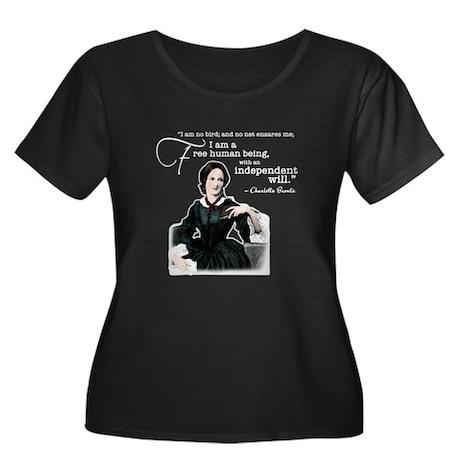 Charlotte Bronte Plus Size T-Shirt