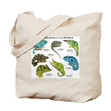 Chameleons of the World Tote Bag
