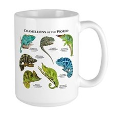 Chameleons of the World Mug