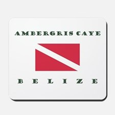 Ambergris Caye Belize Dive Mousepad