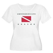 Ambergris Caye Belize Dive Plus Size T-Shirt
