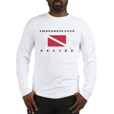 Ambergris Caye Belize Dive Long Sleeve T-Shirt