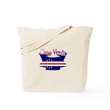 Cape Verde flag ribbon Tote Bag