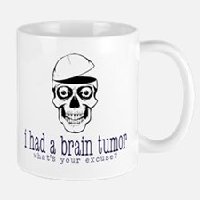 Brain Tumor Excuse Mugs
