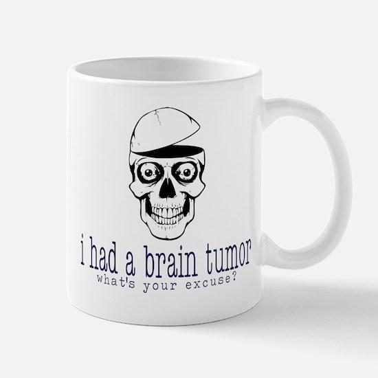 Brain Tumor Excuse Mugs