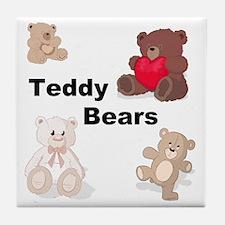 Teddy Bears Tile Coaster