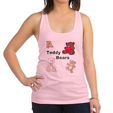 Teddy Bears Racerback Tank Top
