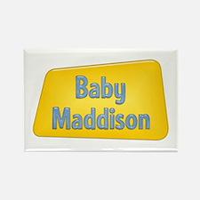 Baby Maddison Rectangle Magnet