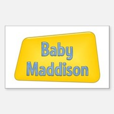 Baby Maddison Rectangle Decal
