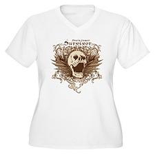 Brain Tumor Survivor Plus Size T-Shirt