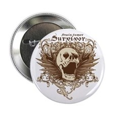 "Brain Tumor Survivor 2.25&Quot; 2.25"" Button"
