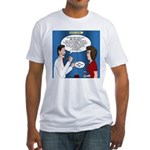 Dentist Dating Fitted T-Shirt