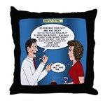 Dentist Dating Throw Pillow
