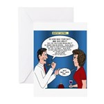 Dentist Dating Greeting Cards (Pk of 10)